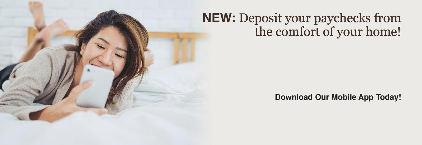 remote deposit image slide